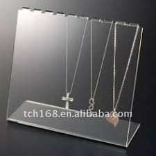 Acrylic Necklace Display Stands Necklace Stands Acrylic Perspex Necklace Stands for mall 8