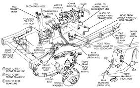 repair guides anti lock brake system combination valve 1 front brake line routing and combination proportioning valve location abs