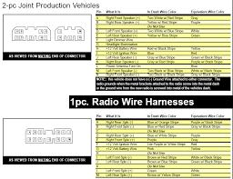 need daimler chrysler harness wiring diagram for cd radi part graphic