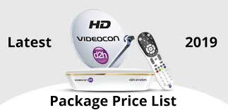 Videocon D2h Monthly Recharge Chart Videocon D2h Package Recharge Plan List 2019 Channel List