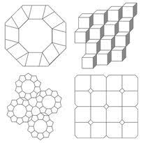 Hexagon Templates for English paper Piecing | Hexagons | Pinterest ... & How to Make EPP Pattern Templates in Word Adamdwight.com