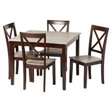 rustic dining room chairs. Tilley Rustic 5 Piece Dining Set Room Chairs