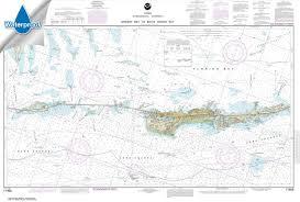 Paradise Cay Publications Noaa Chart 11453 Florida Keys Grassy Key To Bahia Honda Key 26 6 X 39 4 Waterproof