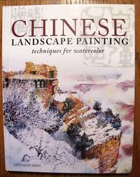 chinese landscape painting techniques by lian quan zhen watercolor book