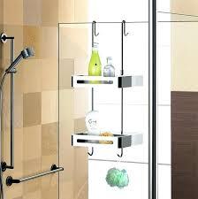 hanging shower travel organizer over door double shelf caddy australia
