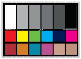 Buy Dgk Color Tools Wdkk Waterproof 18 Gray Color Chart And