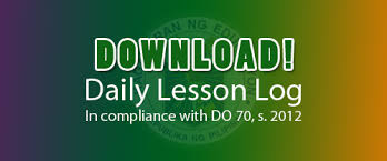 daily lesson log format download ready made daily lesson log dll or daily lesson plan dlp