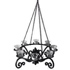 diy allen roth black metal votive candle outdoor chandelier lighting decorative rot fixtures ideas