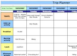 trip planner templates jr says whether or not anyone is listening planning trips together