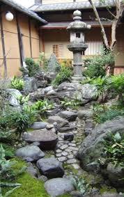 small zen garden pond