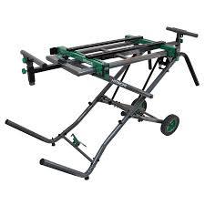 hitachi miter saw. hitachi steel rolling miter saw stand l