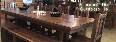 rustic log furniture barnwood furniture sawtooth hickory furniture