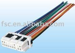 car wiring harness car radio connector(for nissan), application nissan GM Factory Wiring Harness car wiring harness car radio connector(for nissan)