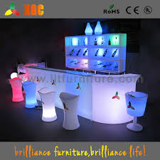 china led light up outdoor furniture led furniture bar counter lighted bar table china luminous bar counters led plastic bar counter