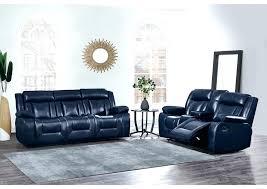 blue leather reclining sofa blue reclining sofa navy blue reclining sofa and reclining w furniture blue