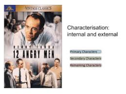 act one homework questions  twelve angry men  angry men characters
