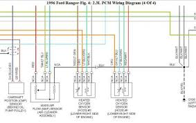 1996 ford ranger oxygen sensor electrical problem 1996 ford this is the wiring diagram i come up for you car please check the wire code against this