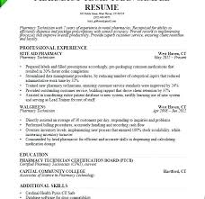 Pharmacy Tech Resume Template Inspiration Pharmacy Technician Resume Examples Sample Tech Template Pharmacist