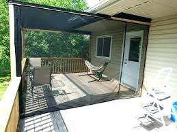 outdoor shade cloth curtains privacy for patio porch screen deck decorating mosquito netting and no see um screens cur