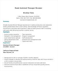 Assistant Manager Resumes Bank Assistant Manager Assistant Property Classy Assistant Property Manager Resume