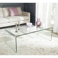 ZUO Migration Clear Glass Coffee Table