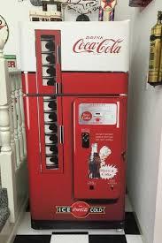 Home Coke Vending Machine Extraordinary Coke Vented Machine Refrigerator Wrap Sticker Man Cave Game Room