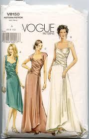 Prom Dress Patterns Vogue