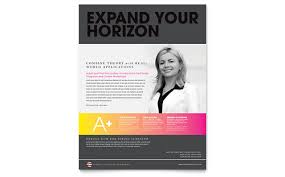 education poster templates training course flyer template
