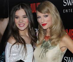 Small Picture Who Looks Best in a Print Dress Taylor Swift or Hailee Steinfeld