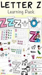 Live worksheets > english > english as a second language (esl) > letters. Letter Z Worksheets For Preschool Kindergarten Fun With Mama