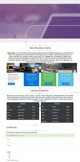 Bootstrap 4 Tutorial: Create a One-Page Template - Designmodo
