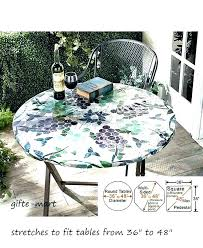 round outdoor table cover patio table cover patio table cover fitted round outdoor tablecloth with