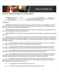 Memorandum Of Agreement Template Beautiful Music Contract Long Term ...