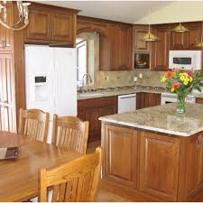 kitchens with wood cabinets and white appliances interesting on kitchen intended for 19 best images