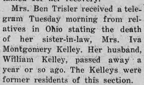 Iva Kelley Death Mention KY - Newspapers.com