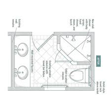 Bathroom Design Drawings Ada Bathroom Design Drawing Rukinet Best ...