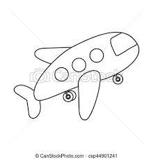 ハエ 飛行機 おもちゃ 輪郭 アイコン