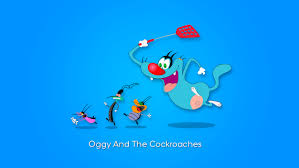 Wallpaper Oggy And The Cockroaches on ...