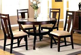 realistic round espresso dining table s08640 espresso wood round dining table