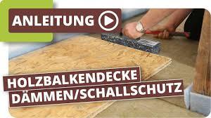 Die verwendeten klebstoffe der grobspanplatten. Trittschalldammung Auf Holzdecken Wie Verbessere Ich Die Akustik Youtube