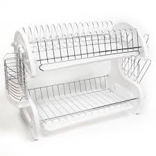 Kitchen Dish Rack Sweet Home Collection Home Basics 5 Piece 2 Tier Kitchen Sink Dish