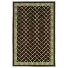 natco stratford bedford brown 5 ft x 8 ft area rug