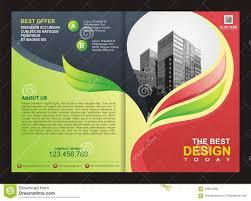 Best Brochure Design 2018 Brochure Flyer Template With Fire Design Stock Vector
