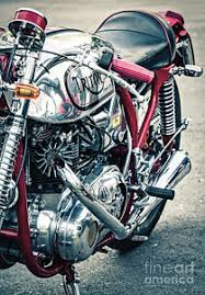 tim gainey triton motorcycles art for sale