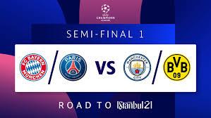 Лига чемпионов по футболу 2020/2021: Uefa Champions League On Twitter Bayern Or Paris Man City Or Dortmund Ucldraw