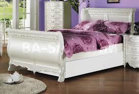 Sleigh Bed Bedroom Set Kids Bedroom Sets Pearl White 5 Pc Sleigh Bedroom Set Af 01010