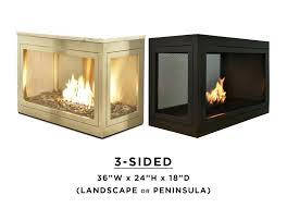 3 sided fireplace wood burning inserts three double fires australia gas 3 sided glass and steel fireplace