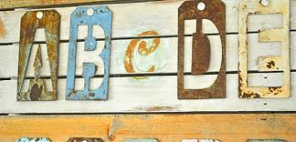 on wall art letters metal with metal wall art that makes a statement