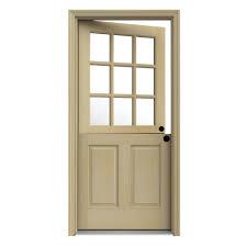 front door. JELD-WEN 36 In. X 80 Unfinished Dutch Fir Left-Hand Front Door