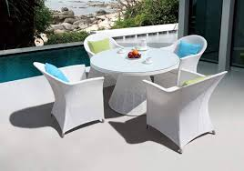 outdoor furniture white. Large Size Of Patio Dining Sets:plastic Outdoor Table Furniture Set Composite White T